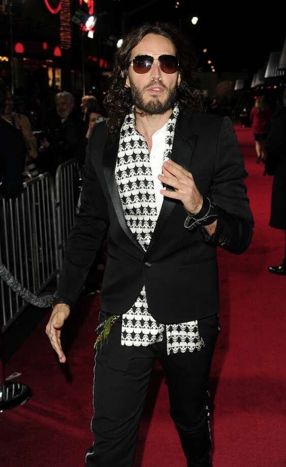 Actor Russell Brand arrives at Warner Bros. Pictures' Gangster Squad premiere at Grauman's Chinese Theatre on January 7, 2013 in Hollywood, California. Photo: Kevin Winter, Getty Images / 2013 Getty Images
