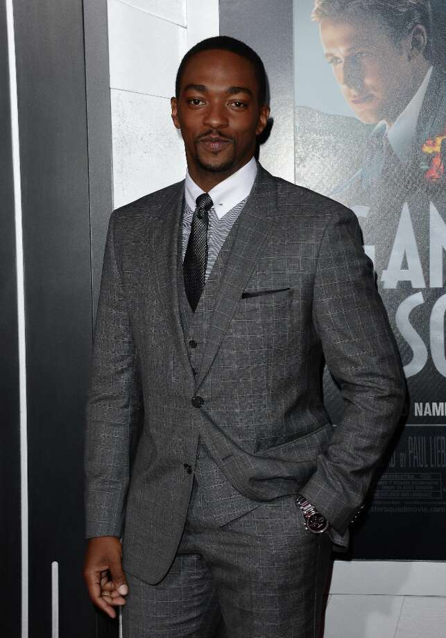 Actor Anthony Mackie arrives at Warner Bros. Pictures' 'Gangster Squad' premiere at Grauman's Chinese Theatre on January 7, 2013 in Hollywood, California. Photo: Jason Merritt, Getty Images / 2013 Getty Images
