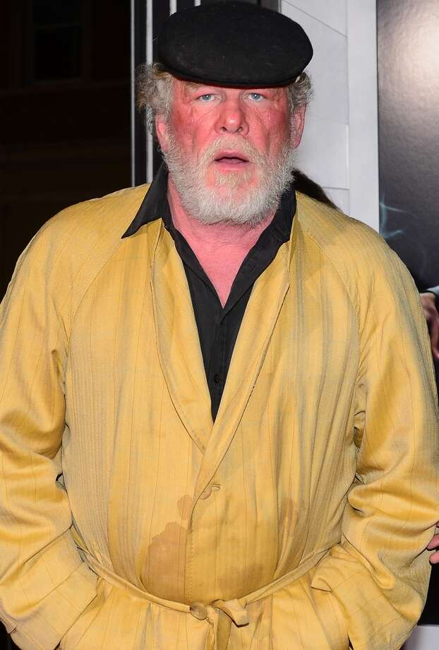 Actor Nick Nolte poses on arrival for the Los Angeles World Premiere of Gangster Squad at Grauman's Chinese Theater on January 7, 2013 in Hollywood,California. Photo: FREDERIC J. BROWN, AFP/Getty Images / 2013 AFP