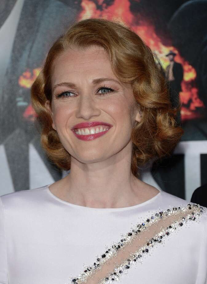 Actress Mireille Enos  arrives at Warner Bros. Pictures' 'Gangster Squad' premiere at Grauman's Chinese Theatre on January 7, 2013 in Hollywood, California. Photo: Jason Merritt, Getty Images / 2013 Getty Images