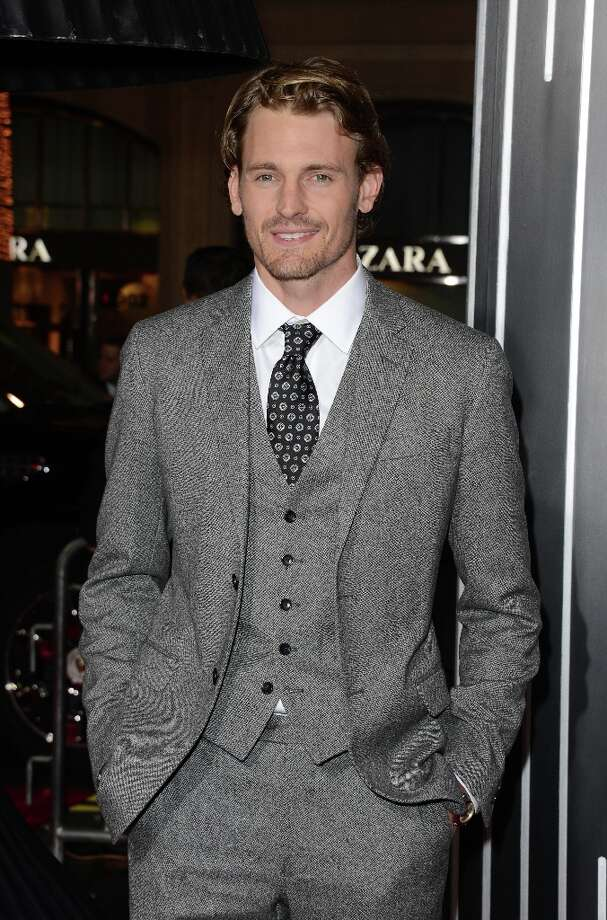 Actor Josh Pence arrives at Warner Bros. Pictures' 'Gangster Squad' premiere at Grauman's Chinese Theatre on January 7, 2013 in Hollywood, California. Photo: Jason Merritt, Getty Images / 2013 Getty Images