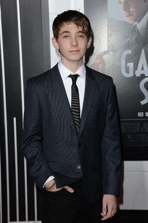 Actor Austin Abrams arrives at Warner Bros. Pictures' 'Gangster Squad' premiere at Grauman's Chinese Theatre on January 7, 2013 in Hollywood, California. Photo: Jason Merritt, Getty Images / 2013 Getty Images