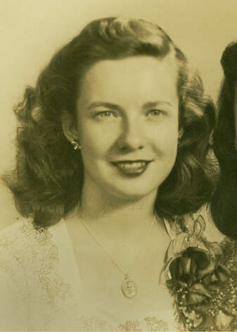 Annie Orr is pictured in her Forest Hills High School graduation photo from 1944. Photo: Contributed Photo