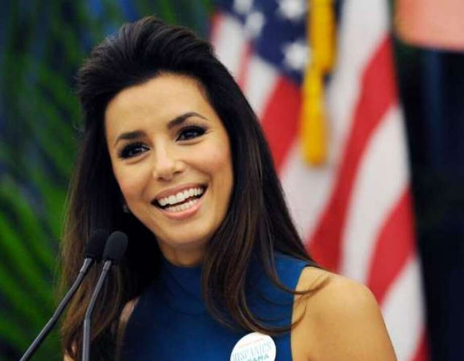 Eva Longoria is a co-chair of the Obama campaign and is scheduled to speak on Thursday Sept. 6, 2012.  (Jeff Daly / AP Photo)