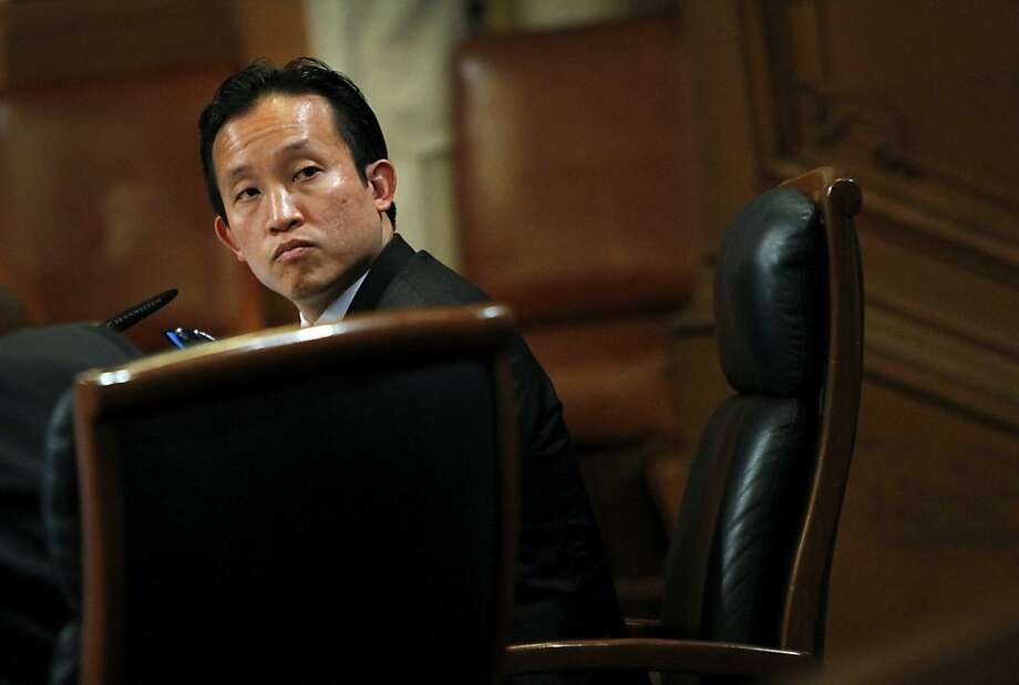 Supervisor David Chiu, who will likely cast the deciding vote on the CEQA process, is looking for a compromise. Photo: Sarah Rice, Special To The Chronicle