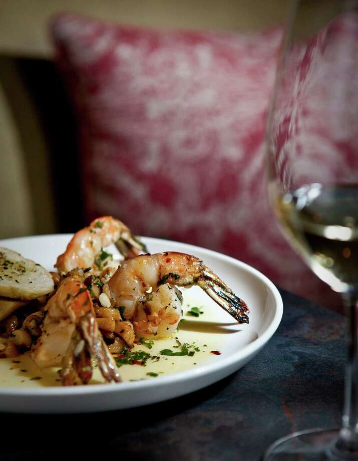 Gambas al Ajillo. Photo: Nick De La Torre, Staff / © 2013  Houston Chronicle
