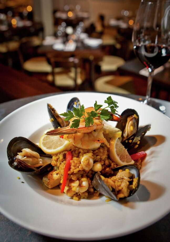 The Spanish-influenced Costa Brava Bistro is for those who want a chic, expensive Cinco de Mayo. Read Alison Cook's three-star review here.  Photo: Nick De La Torre, Staff / © 2013  Houston Chronicle