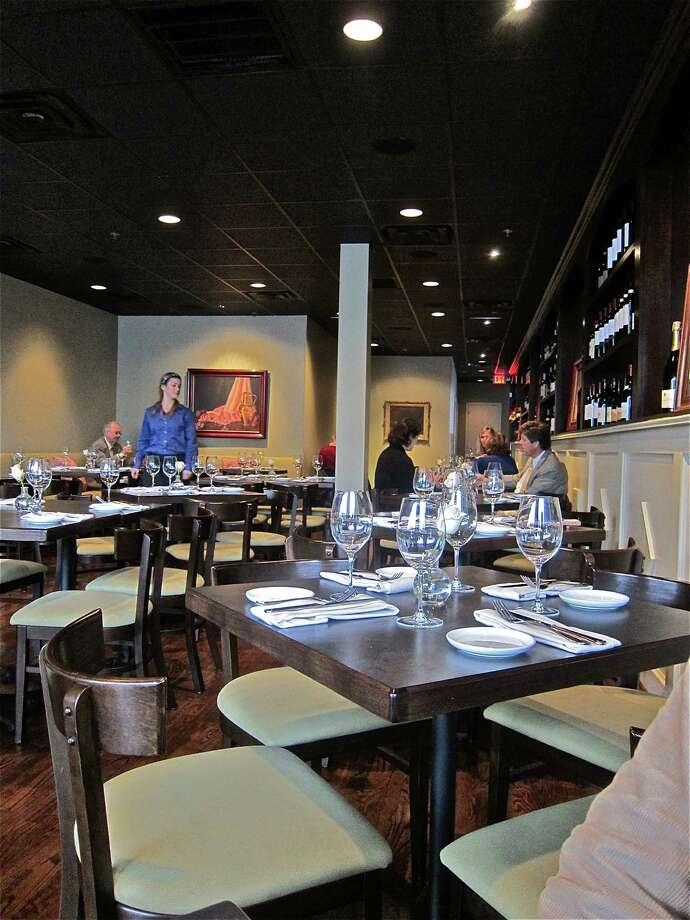 The dining room at Costa Brava Bistro. Photo: Alison Cook