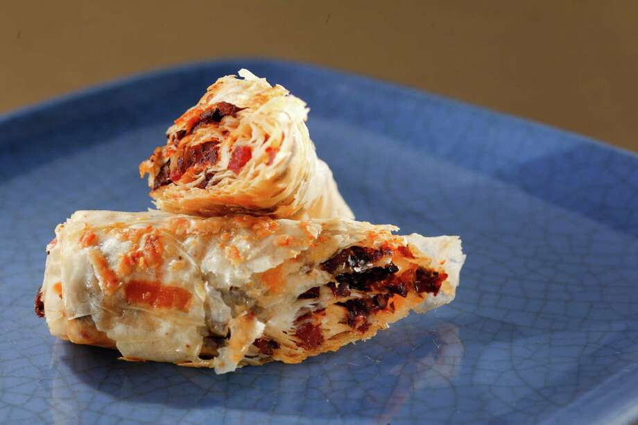 Sun-Dried Tomato Bacon Roll-Ups Photo: Craig Lee, Special To The Chronicle / ONLINE_YES
