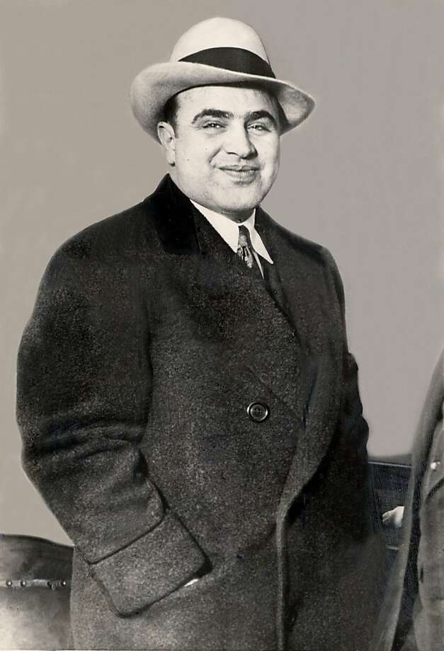 "Al Capone: Public Enemy No. 1 lost his marbles on the ""Rock."" Photo: -, SFC"