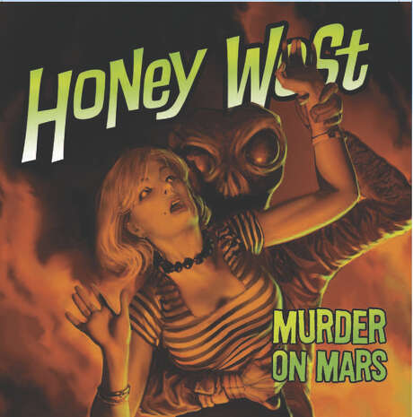 "Sexy 1950s private eye Honey West investigates crime in the audio drama ""Murder on Mars."" Photo: --"