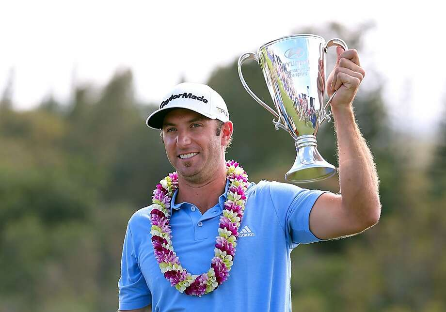 Dustin Johnson has won a title in six straight years. Photo: Christian Petersen, Getty Images