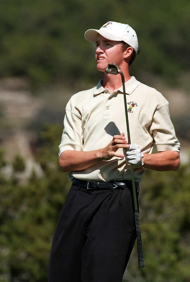 Baylor's Jimmy Walker watches the ball at the 13th hole at La Cantera during the UTSA invitational on Feb. 24, 1998. Photo: San Antonio Express-News File Photo / SAN ANTONIO EXPRESS-NEWS