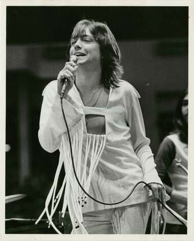 Then: David Cassidy performs at the Houston Livestock Show and Rodeo in 1972. Photo: Othell O. Owensby, Houston Chronicle / Houston Chronicle
