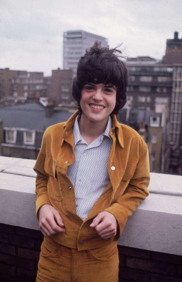 Then: Teen pop superstar Donny Osmond in the '70s.