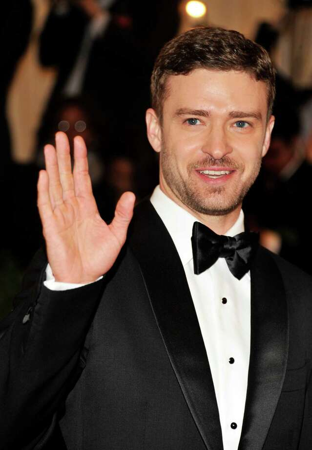 Now: Justin Timberlake arrives at the Metropolitan Museum of Art Costume Institute gala benefit in New York on May 7, 2012. Photo: Charles Sykes, ASSOCIATED PRESS / A2012