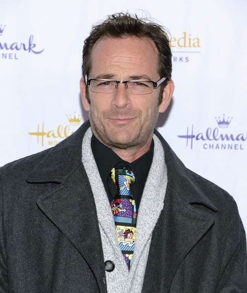 Now: Luke Perry attends the Hallmark Channel and Hallmark Movie Channel's