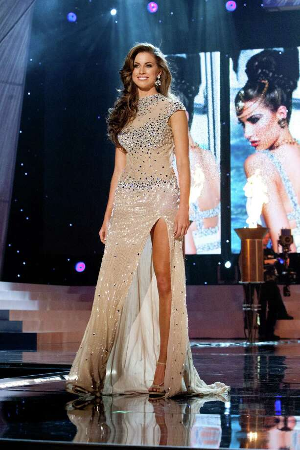 Miss Alabama USA 2012, Katherine Webb, competes in an evening gown of her choice during the 2012 MISS USA® Competition from the Planet Hollywood Resort & Casino Theatre for the Performing Arts, in Las Vegas, Nevada on Sunday, June 3, 2012. Photo: Richard D. Salyer, Miss Universe Organization / Miss Universe Organization