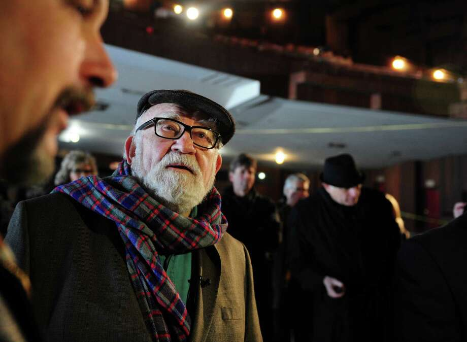 Actor Ed Asner returns to The American Shakespeare Theatre in Stratford, Conn. Tuesday, Jan. 8, 2013.  Asner spent the 1959 season at the American Shakespeare Festival Theatre. Photo: Autumn Driscoll / Connecticut Post
