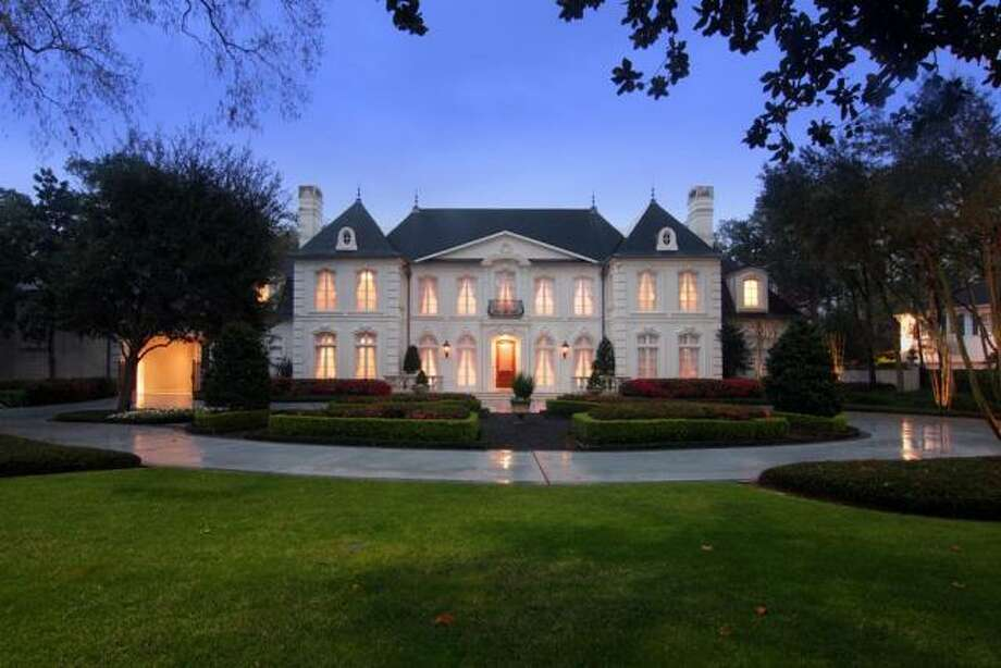 French chateau inspired home in river oaks houston chronicle for House plans houston