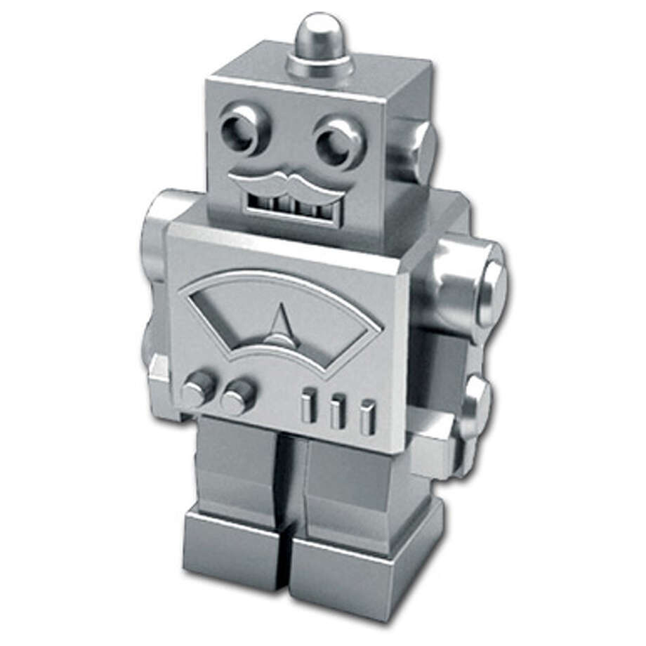 New Monopoly Token: Robot (under consideration) Photo: Hasbro
