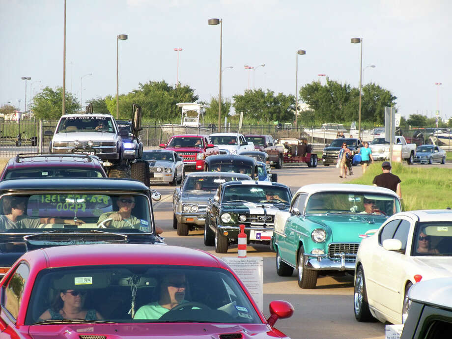 West Houston Muscle Car membership is free, and WHM tags are sold for a one-time fee of $10. Admission to the event is free for tag-holders.