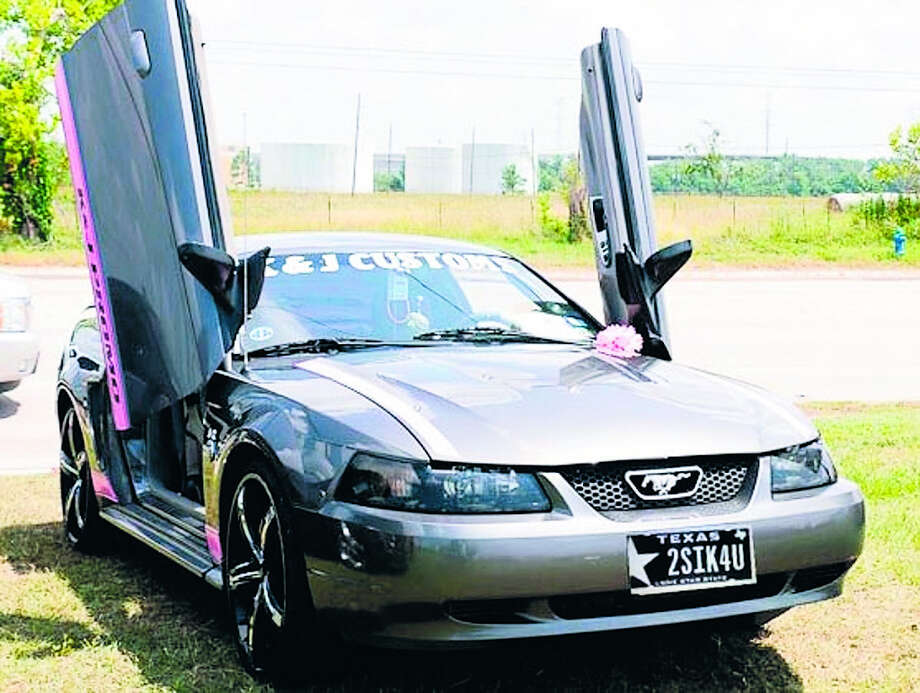 Kresha Pearson will show her 40th Anniversary 2004 Mustang at the event. Photo: PHOTO COURTESY OF KRESHA PEARSON