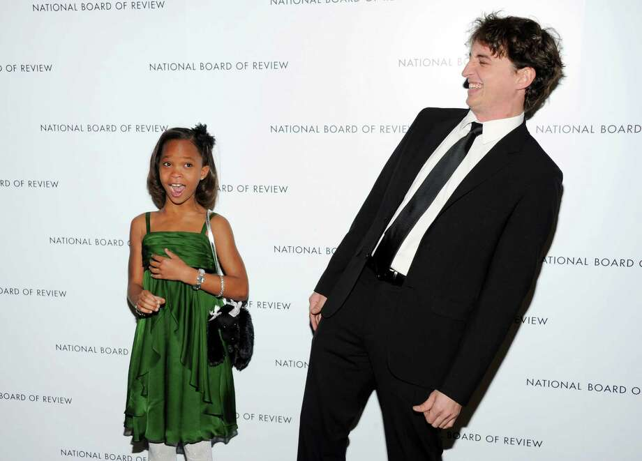 """Break Through Performance"" winner Quvenzhane Wallis, left, and ""Best Directorial Debut"" winner Benh Zeitlin, attend the National Board of Review Awards gala at Cipriani 42nd Street on Tuesday Jan. 8, 2013 in New York. Photo: Evan Agostini, Evan Agostini/Invision/AP / Invision"