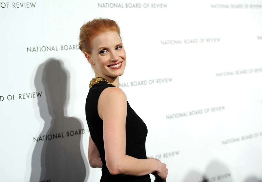 Best Actress winner Jessica Chastain attends the National Board of Review Awards gala at Cipriani 42nd St. on Tuesday Jan. 8, 2013 in New York. Photo: Evan Agostini, Evan Agostini/Invision/AP / Invision