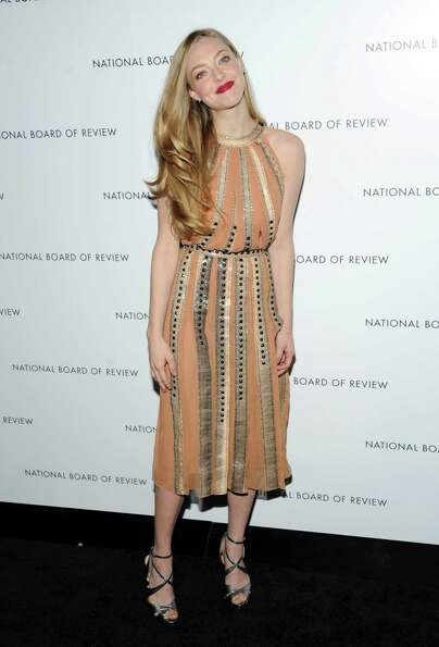 Actress Amanda Seyfried attends the National Board of Review Awards gala at Cipriani 42nd Street on
