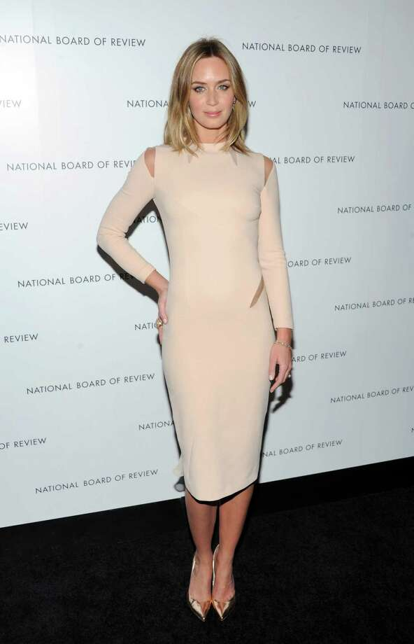 Actress Emily Blunt attends the National Board of Review Awards gala at Cipriani 42nd Street on Tuesday Jan. 8, 2013 in New York. Photo: Evan Agostini, Evan Agostini/Invision/AP / Invision