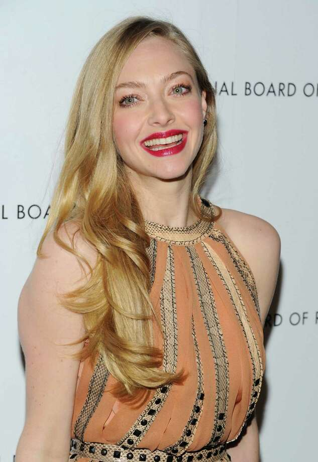 Actress Amanda Seyfried attends the National Board of Review Awards gala at Cipriani 42nd Street on Tuesday Jan. 8, 2013 in New York. Photo: Evan Agostini, Evan Agostini/Invision/AP / Invision