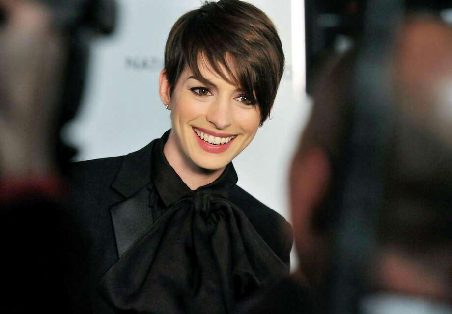 Actress Anne Hathaway attends the National Board of Review Awards gala at Cipriani 42nd St. on Tuesday Jan. 8, 2013 in New York. Photo: Evan Agostini, Evan Agostini/Invision/AP / Invision