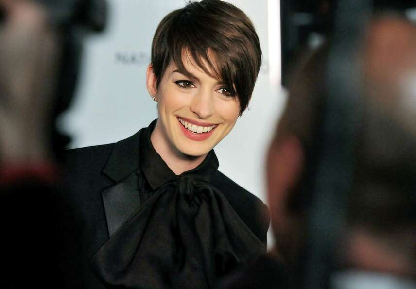 Actress Anne Hathaway attends the National Board of Review Awards gala at Cipriani 42nd St. on Tuesd