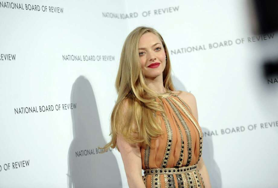 Actress Amanda Seyfried attends the National Board of Review Awards gala at Cipriani 42nd St. on Tuesday Jan. 8, 2013 in New York. Photo: Evan Agostini, Evan Agostini/Invision/AP / Invision
