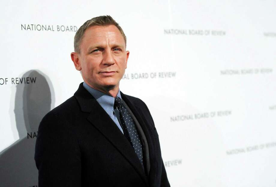 Actor Daniel Craig attends the National Board of Review Awards gala at Cipriani 42nd St. on Tuesday Jan. 8, 2013 in New York. Photo: Evan Agostini, Evan Agostini/Invision/AP / Invision