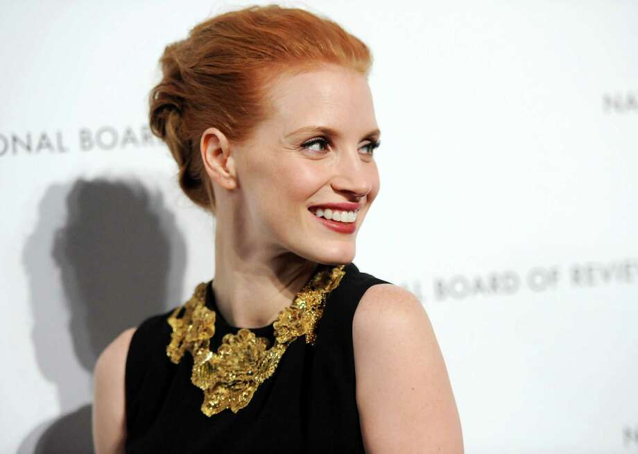 """Best Actress"" winner Jessica Chastain attends the National Board of Review Awards gala at Cipriani 42nd St. on Tuesday Jan. 8, 2013 in New York. Photo: Evan Agostini, Evan Agostini/Invision/AP / Invision"