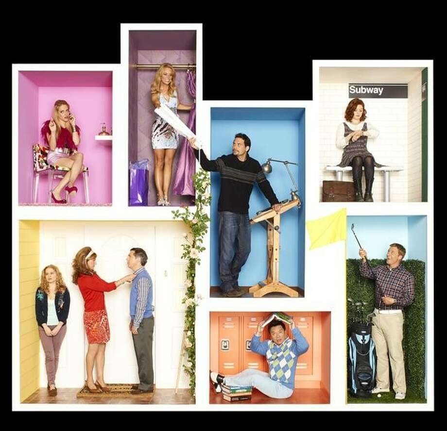Suburgatory: 8 p.m. ABCReturns Jan. 9Moves to 7:30 p.m. on Apr. 3 Photo: Craig Sjodin, ABC / © 2012 American Broadcasting Companies, Inc. All rights reserved.
