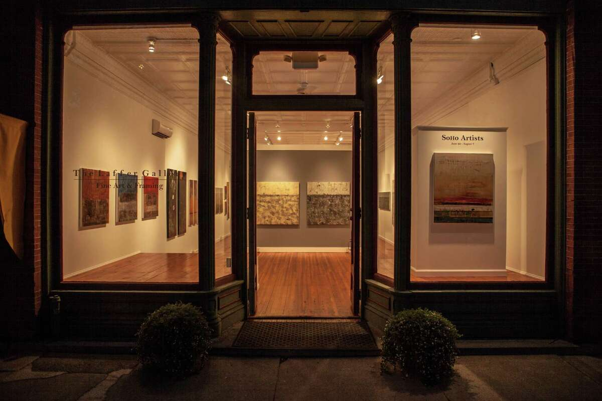 Exeterior view of the Laffer Gallery, 96 Broad Street, Schuylerville. (Courtesy Laffer Gallery)