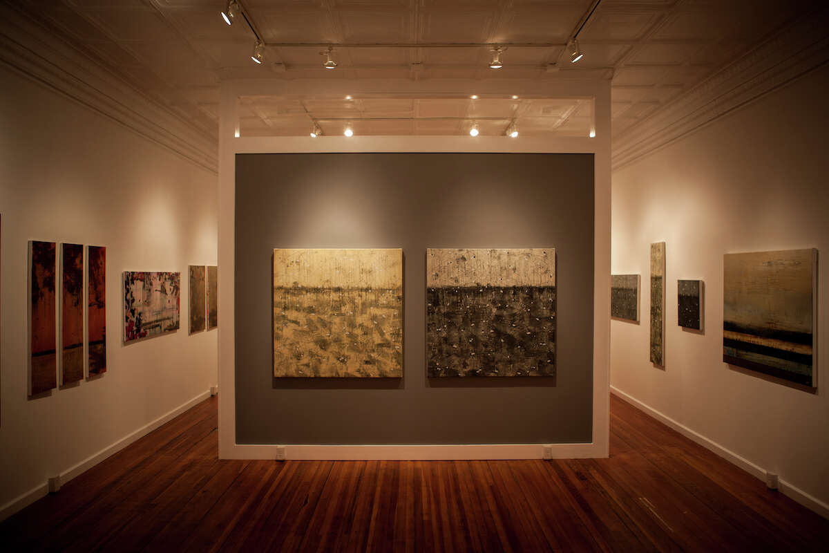 Interior view of the Laffer Gallery, 96 Broad Street, Schuylerville. (Courtesy Laffer Gallery)