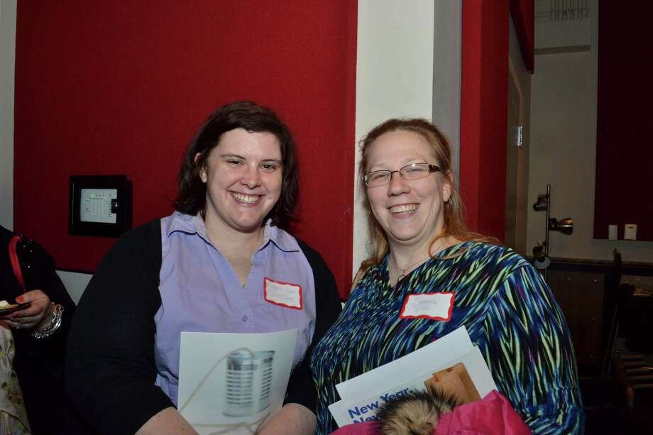 Were you Seen at the Women at Work Connect Event with speech coach Dale Klein on Tuesday, Jan. 8, 2013, at the College of Saint Rose in Albany? Photo: Colleen Ingerto