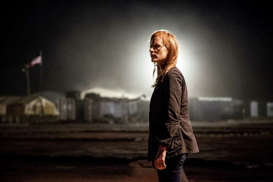 Best actress nominee: Jessica Chastain in 'Zero Dark Thirty' Photo: Jonathan Olley, Unit Stills / ©2012 Zero Dark Thirty, LLC.  All Rights Reserved.