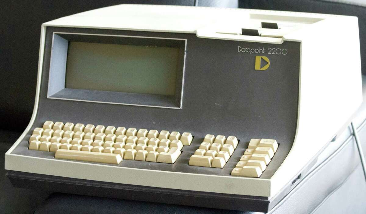 June 1970 - The first personal computer, The Datapoint 2200, was released The San Antonio-based Datapoint Corporation is considered to be the manufacturer of the first personal computer.