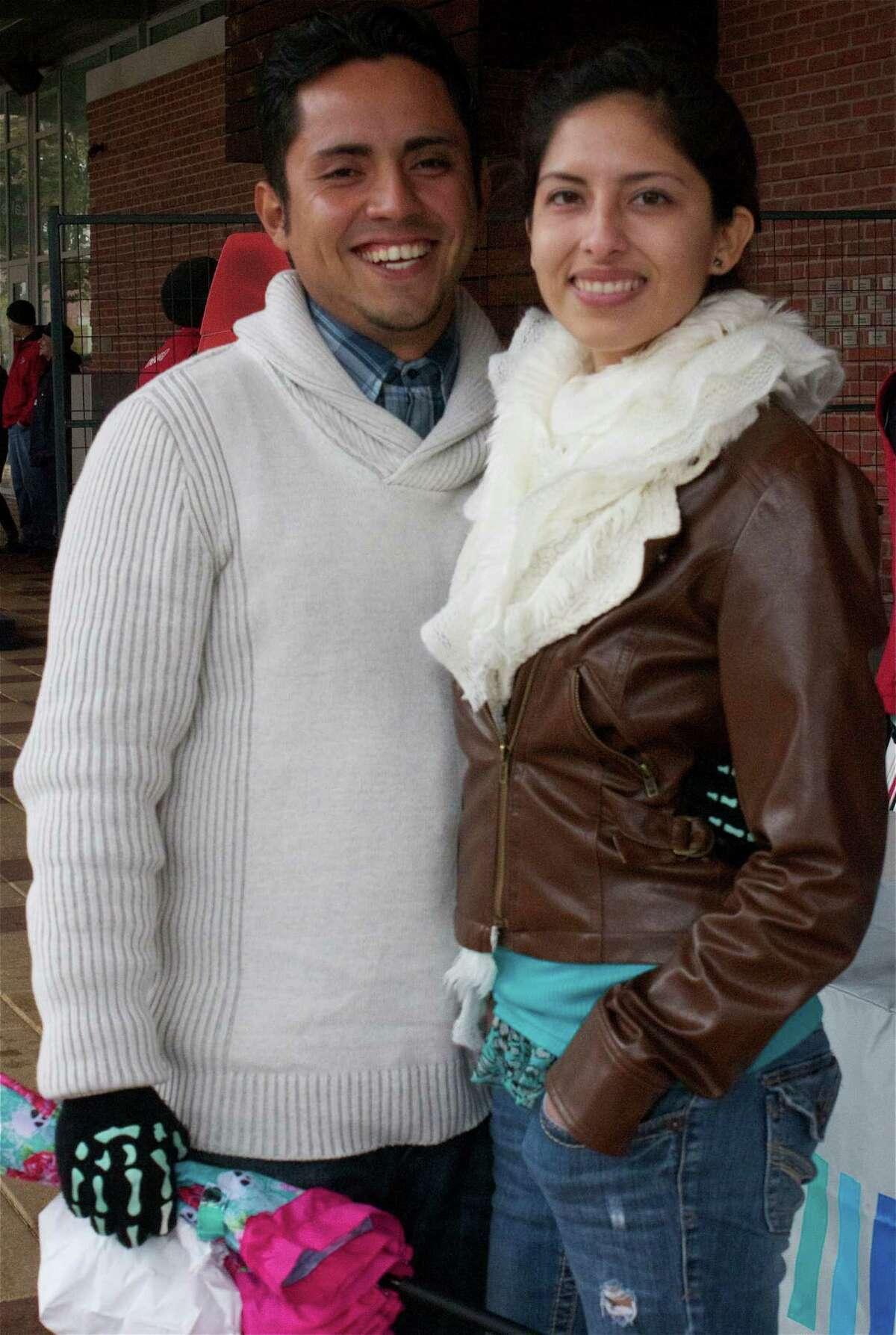 Oscar Hernandez and Carolina Ramirez