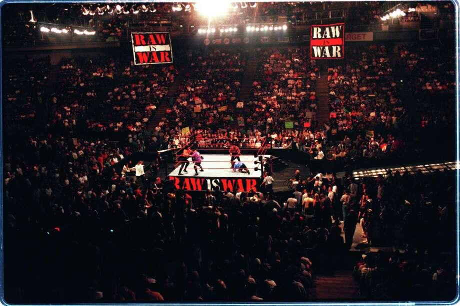 Houston has hosted many RAW events and two Wrestlemanias.  Photo: Steve Campbell, Houston Chronicle / Houston Chronicle