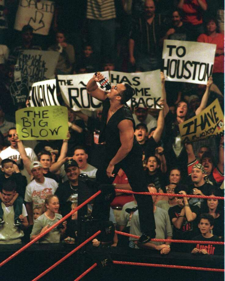 WWE RAW, the longest episodic show on TV today, has had plenty of crazy happenings on live TV.Here is a look back at some of WWE's wildest moments and characters.  Photo: Steve Campbell, Houston Chronicle / Houston Chronicle