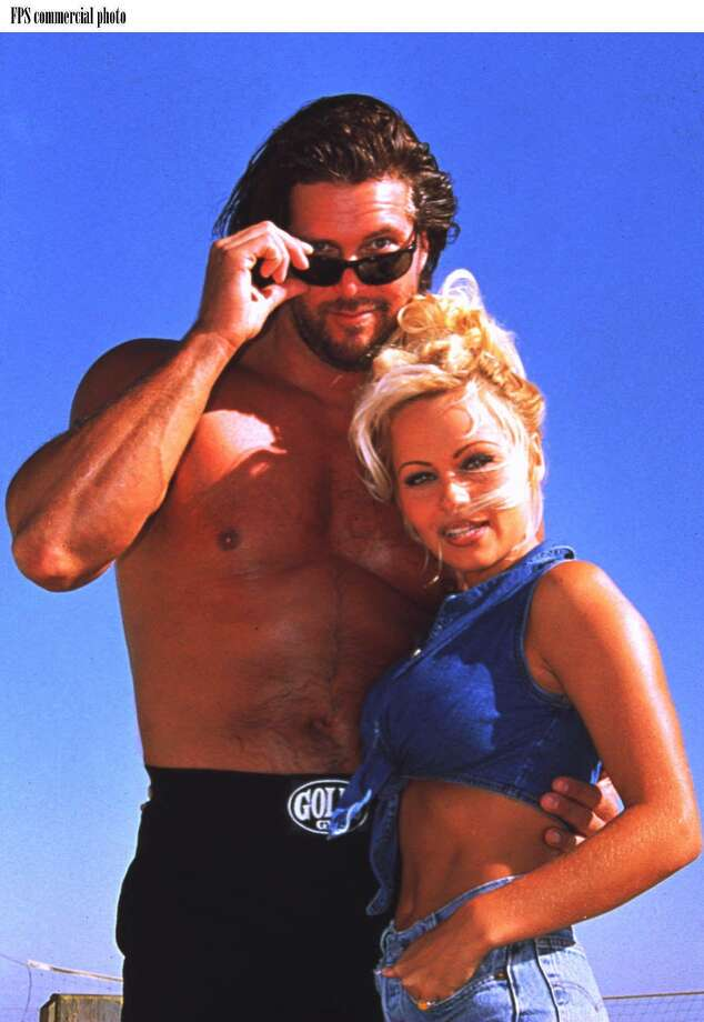 Celebs like Pamela Anderson (show here with Diesel) have been known to get involved with WWE shows. Photo: FPS / WORLD WRESTLING FEDERATION