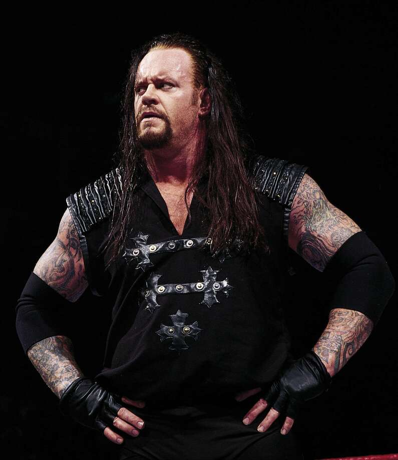 The Undertaker, one of the biggest stars in wrestling history, was born in Houston. Photo: 1999 Titan Sports Inc., UPN / handout