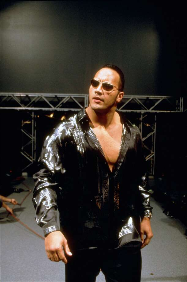 "The Rock was a master of catch phrases like ""do you smell what the Rock is cooking?""  Photo: 1999 Titan Sports Inc., UPN"