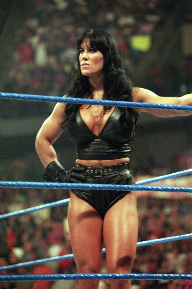 Chyna broke down gender barriers as she sometimes got in the ring against men.  Photo: 1999 Titan Sports Inc., UPN